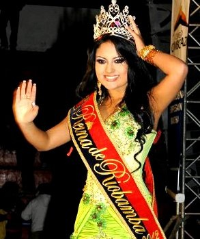 Reina de Riobamba 2012 Catherine