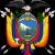 Escudo Ecuatoriano para calcar.